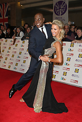 Ainsley Harriott, Natalie Lowe , Pride of Britain Awards, Grosvenor House Hotel, London UK. 28 September, Photo by Richard Goldschmidt /LNP © London News Pictures