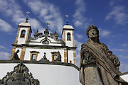 Congonhas_MG, Brasil.<br /> <br /> Santuario de Bom Jesus do Matozinhos, com esculturas do mestre Aleijadinho (Antonio Francisco Lisboa).<br /> <br /> The sanctuary of Bom Jesus do Matozinhos with sculptures of the master Aleijadinho (Antonio Francisco Lisboa).<br /> <br /> Foto: MARCUS DESIMONI / NITRO