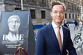 Prins Jaime opent tentoonstelling ROME over Keizer Constantijn