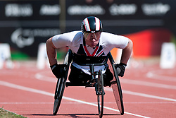 BUSHELL Mickey, GBR, 100m, T53, 2013 IPC Athletics World Championships, Lyon, France