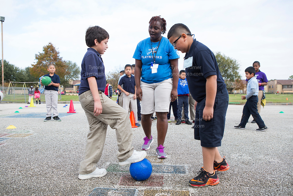 Playworks<br /> <br /> <br /> Chambers Elementary School<br /> 10700 Carvel Ln., <br /> Houston, TX 77072<br /> <br /> 2nd grade<br /> No RWJF releases for any of the kids