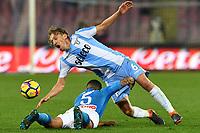 Lucas Leiva Lazio, Allan Marques Napoli <br /> Napoli 10-02-2018  Stadio San Paolo <br /> Football Campionato Serie A 2017/2018 <br /> Napoli - Lazio<br /> Foto Antonello Sammarco / Imag Sport / Insidefoto