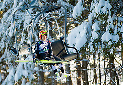 GRAESSLER Ulrike of Germany during 11th Women FIS Ski Jumping World Cup competition in Planica replacing Ljubno  on January 25, 2014 at HS95, Planica, Slovenia. Photo by Vid Ponikvar / Sportida