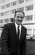 16/07/1970<br /> 07/16/1970<br /> 16 July 1970<br /> Mr. P.V. Doyle at the Tara Towers Hotel, Merrion Road, Dublin.