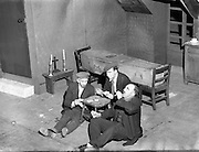 """22/04/1955<br /> 04/22/1955<br /> 22 April 1955<br /> Special for Abbey Theatre - Scenes from 'The Plough and the Stars' by Sean O'Casey. The Plough and the Stars is a play by the Irish writer Seán O'Casey first performed on February 8, 1926 by the Abbey Theatre in the writer's native Dublin..It is the third of his well known """"Dublin Trilogy"""" - the other two being The Shadow of a Gunman (1923) and Juno and the Paycock (1924)."""