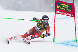 Rasmus Windingstad of Norway during 1st run of Men's Giant Slalom race of FIS Alpine Ski World Cup 57th Vitranc Cup 2018, on 3.3.2018 in Podkoren, Kranjska gora, Slovenia. Photo by Urban Meglič / Sportida