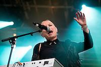 Jugendfest 2012. Eva &amp; The Heartmaker spiller p&aring; Jugendfest i &Aring;lesund torsdag kveld.<br /> Foto: Svein Ove Ekornesv&aring;g