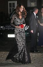 NOV 8 2012 Duchess of Cambridge at St.Andrews's University anniversary