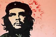 Image of Ernesto Che Guevara in Candelaria, Artemisa Province, Cuba.
