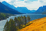 Waterton Lake<br /> Waterton Lakes National Park<br /> Alberta<br /> Canada<br /> Waterton Lakes National Park<br /> Alberta<br /> Canada