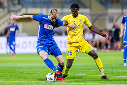 Shamar Nicholson of NK Domzale during 2nd leg football match between NK Domzale and NK Siroki Brijeg in 1st Qualifying round of UEFA Europa League, on July 19, 2018 in Domzale Sports Park, Domzale, Slovenia. Photo by Ziga Zupan / Sportida