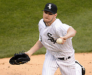 CHICAGO - MAY 07:  Chris Sale #49 of the Chicago White Sox pitches against the Minnesota Twins on May 7, 2016 at U.S. Cellular Field in Chicago, Illinois.  The White Sox defeated the Twins 7-2.  (Photo by Ron Vesely)    Subject:  Chris Sale