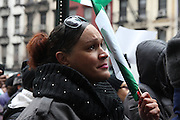 Manhattan, NY March 7, 2014 - Members of Solidarity Alliance, a coalition focused on Nigerian LGBT issues, human rights, and HIV/AIDS organizations, protest outside the Consualte General of Nigeria against Nigeria's anti-gay marriage laws. 03072014 Photo by Chinwe Oniah/NYCity Photo Wire