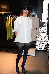 TABITHA DENHOLM at the opening of the Tiger of Sweden Store, 210 Piccadilly, London on 3rd October 2013.