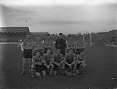 1957 - Soccer: Shamrock Rovers v Evergreen United at Milltown.