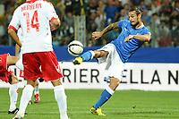 Daniel Pablo Osvaldo (Italia)<br /> 11/09/2012 Modena<br /> Football Calcio 2012 / 2013 <br /> Qualificazioni Mondiali 2014<br /> Italia vs Malta<br /> Foto Insidefoto / Antonietta Baldassarre
