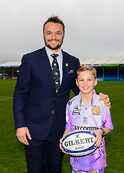 Mascot - Mandatory by-line: Dougie Allward/JMP - 23/11/2019 - RUGBY - Sandy Park - Exeter, England - Exeter Chiefs v Glasgow Warriors - Heineken Champions Cup