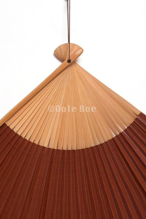 detail of an oriental fan