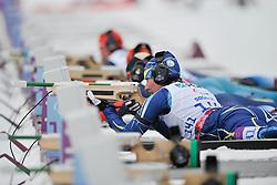 PRYLUTSKA Olga Guide: MOGYLNYI Volodymyr, Biathlon at the 2014 Sochi Winter Paralympic Games, Russia