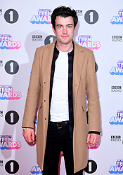 Jack Whitehall attending BBC Radio 1's Teen Awards, at the SSE Arena, Wembley, London.
