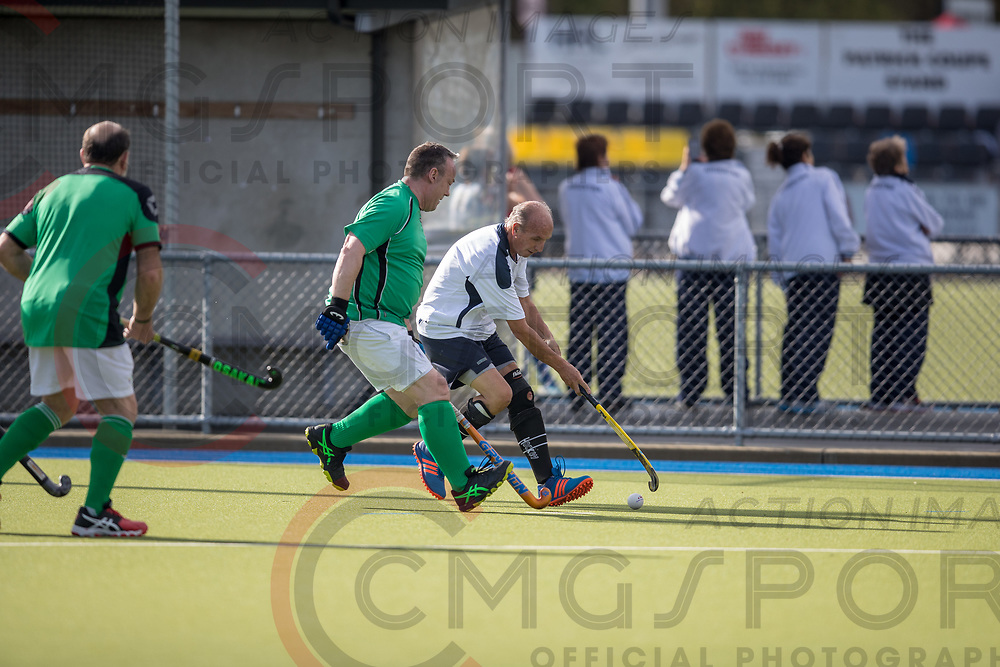 GOLDEN OLDIES FESTIVAL OF SPORT HOCKEY<br /> IRISH HAVANT<br /> 20180416<br /> CRAIG MIDDLETON<br /> Photo CRAIG MIDDLETON CMG SPORT ACTION IMAGES<br /> &copy;cmgsport2018