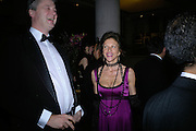 The Marquess of Worcester and  Cleo Shand, THE DINER DES TSARS in aid of UNICEF. To celebrate the launch of Quintessentially Wine, Guildhall. London. 29 March 2007.  -DO NOT ARCHIVE-© Copyright Photograph by Dafydd Jones. 248 Clapham Rd. London SW9 0PZ. Tel 0207 820 0771. www.dafjones.com.