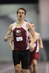 London, Ontario ---11-01-22---   James Harrington of the McMaster Marauders competes at the 2011 Don Wright meet at the University of Western Ontario, January 22, 2011..GEOFF ROBINS/Mundo Sport Images.
