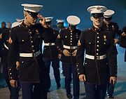 portrait of group of Marines by Kip Ramsey
