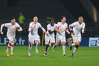 JOIE DE MONACO  - 17.12.2014 - Lyon / Monaco - Coupe de la ligue -<br /> Photo : Jean Paul Thomas / Icon Sport