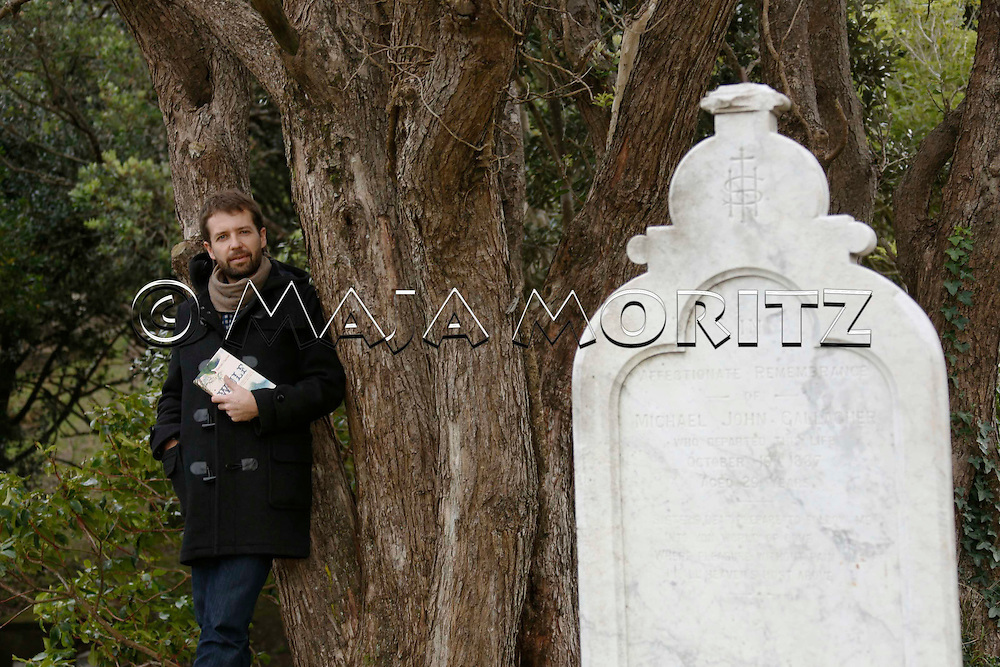 Hamish Clayton on the cemetery at Victoria University of Wellington, New Zealand, where he often finds inspiration