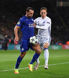 Daniel Drinkwater of Leicester City - Mandatory by-line: Alex James/JMP - 10/01/2014 - FOOTBALL - King Power Stadium - Leicester, England - Leicester City v FC Copenhagen - UEFA Champions League