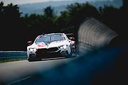 June 28 - July 1, 2018: IMSA Weathertech 6hrs of Watkins Glen. 25 BMW Team RLL, BMW M8 GTLM, Alexander Sims, Connor De Phillippi, Bill Auberlen,
