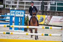 JOCHEMS Kevin (NED), Enjoy<br /> Nörten-Hardenberg - Burgturnier 2018<br /> Preis des Hardenberg GolfResort<br /> Eröffnungsspringen CSI3*<br /> Internationale Springprüfung (1,40 m)<br /> 17. Mai 2019<br /> © www.sportfotos-lafrentz.de/Stefan Lafrentz