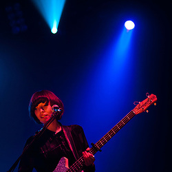London, Uk - 14 September 2012: Elena Torna of the band 'Daughter' performs live at the HMV Hammersmith Apollo