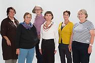 FRAUENPOWER für Hinz&Kunzt (von links): Die Ehrenamtlichen Ingrid<br /> Dujesiefken, Maria Rochell, Marina Krog, Conja Reuter und Marlies Heyne-Reimer.