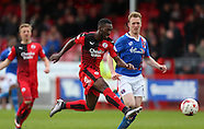 Crawley Town v Carlisle United 23/04/2016