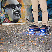 Alienwheels #hoverboard Miami #Photoshoot Series, product photography on location <br /> [photo credit: Maria Rock Photography, @mrockphoto]