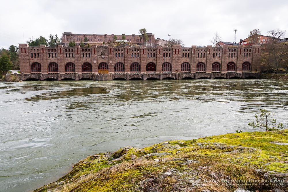 Sweden, Trollhättan. Olidan Hydroelectric Power Station.