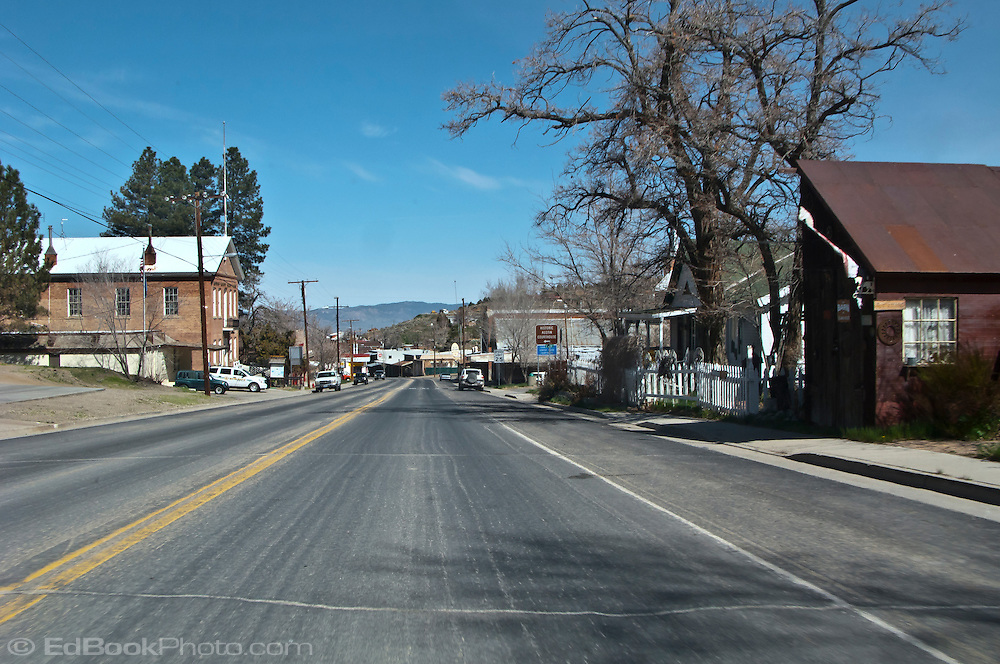 Austin, Nevada, a remote town on the high desert of the Great Basin.
