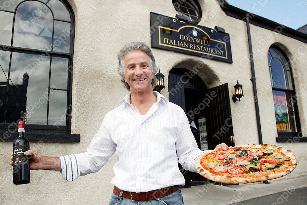 Owner of the Holywell Italian Restaurant's in Ennistymon and Fanore Wolfgang Dietl.<br />
