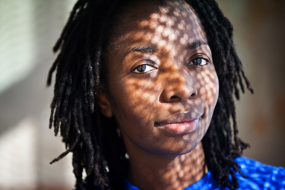 Ruth Marimo, a native of Zimbabwe and mother of two, spent a month in jail awaiting deportation after her ex-husband turned her into immigration officials. She wrote &quot;Freedom of an Illegal Immigrant,&quot; a book about her experiences. &igrave;I'm just trying to use my voice,&icirc; she said, &igrave;to make change.&icirc;<br /> <br /> Chicago Freelance Documentary Photographer | Alyssa Schukar | Photojournalist