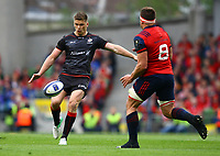 Rugby Union - 2016 / 2017 European Rugby Champions Cup - Semi-Final: Munster vs. Saracens<br /> <br /> Owen Farrell of Saracens in action at the Aviva Stadium, Dublin.<br /> <br /> COLORSPORT/KEN SUTTON