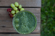 Green Grapes smoothie