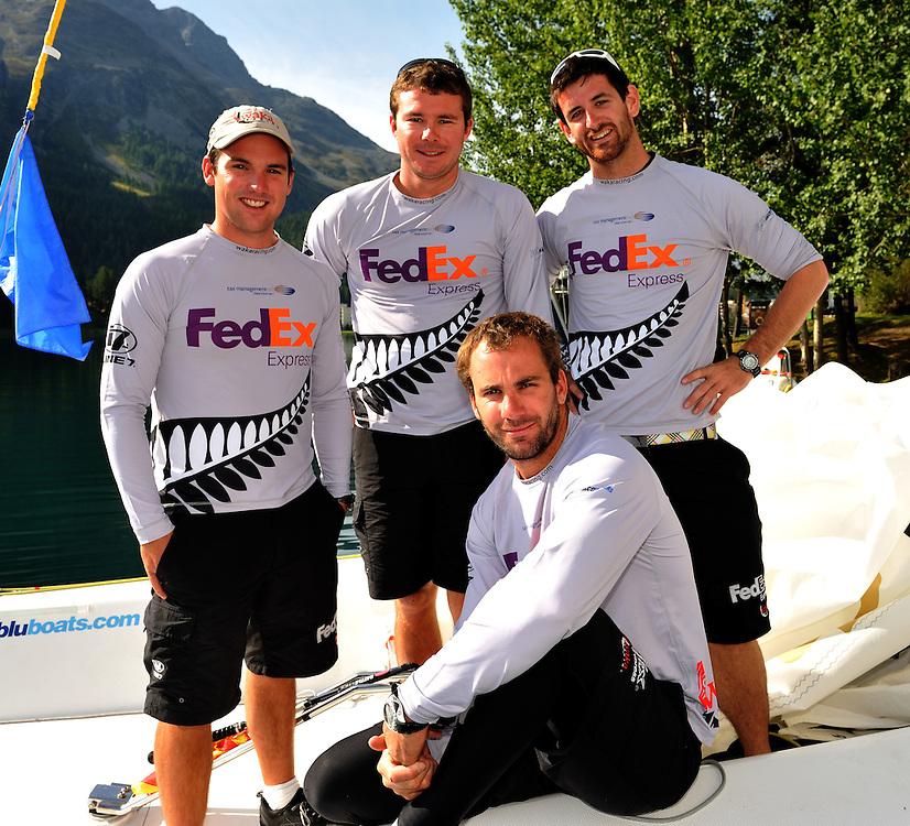 Phil Robertson and his WAKA Racing Team of Garth Ellingham, Sam Bell, and Adam Martin on Bow.Photo: Chris Davies/WMRT