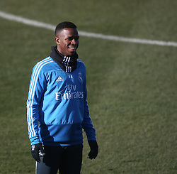 February 8, 2019 - Madrid, Spain - Vinicius Junior of Real Madrid during a training session at the club's training ground in the outskirts of Madrid on February 8, 2019 Before The Liga match against Atletico Madrid. (Credit Image: © Raddad Jebarah/NurPhoto via ZUMA Press)
