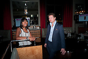 SOREN THOLSTRUP; CLAUDETTE WATSON, Fine Wine and Dine in aid of  Sick Children's Trust. Cafe Anglais. London. 1 March 2012