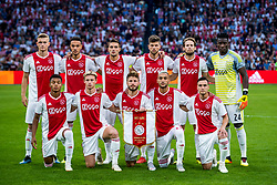14-08-2018 NED: Champions League AFC Ajax - Standard de Liege, Amsterdam<br /> Third Qualifying Round,  3-0 victory Ajax during the UEFA Champions League match between Ajax v Standard Luik at the Johan Cruijff Arena / Team Ajax
