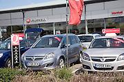 Car sales dealership, Ransomes Europark, Ipswich, Suffolk, England