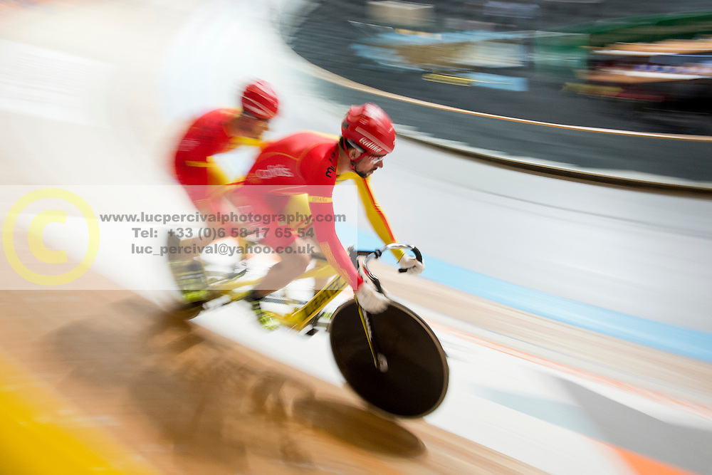 , ESP, Sprint Qualifiers, 2015 UCI Para-Cycling Track World Championships, Apeldoorn, Netherlands