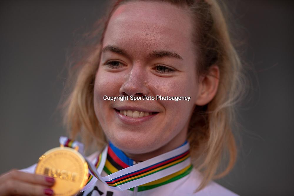 29-09-2018: WK wielrennen: weg vrouwen: Innsbruck<br />Anna van der Breggen